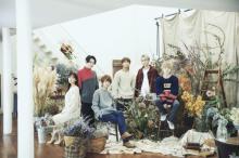 AAA「笑顔のループ」MV公開 植物や花が彩る空間で6人の笑顔が連鎖