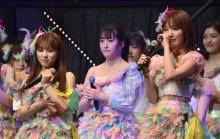 宮脇咲良&矢吹奈子、HKT48ライブで涙の決意表明