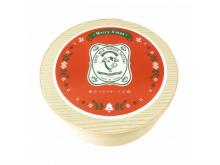 大人気ミルクチーズケーキにクリスマスパッケージが初登場!