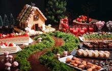 童話「お菓子の家」の世界に迷い込む♩シェラトン都ホテル大阪のいちごブッフェ第1弾はいちご×チョコレート♡