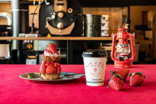 グランピング気分で楽しめそう♡南青山に佐賀県のブランドいちご「いちごさん」のカフェが限定オープン!