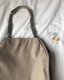 2,990円で手に入る♡しまむらとは思えない高見えチェーンバッグが登場!