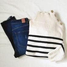 ZARAで人気の「ボタン付きセーター」はもうチェックした?♡おすすめのコーデと共にご紹介します♩