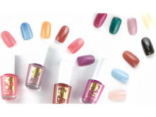 全16色!日本の四季をイメージした爪に優しい美容液ネイル
