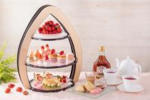 ストリングスホテル東京の季節限定アフタヌーンティーはイチゴ×メープルシロップのとろけるマリアージュ♡