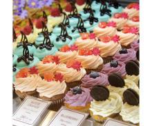 かわいさ100点♡ロンドン発の「ローラズ・カップケーキ 東京」からバレンタイン・カップケーキが発売
