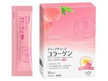 """ファンケル「ディープチャージ コラーゲン」に限定の""""白桃味"""""""