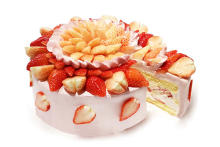 """カフェコムサは毎月22日が""""ショートケーキの日""""♡1月は珍しい""""白いちご""""を使用した限定ケーキが登場"""