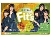 ファン必見!ロッテ「Fit's」に欅坂46デザインが新登場