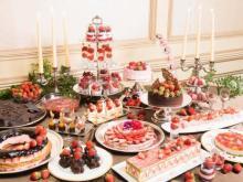 いちご&ショコラづくしの2日間♡リーガロイヤルホテル東京、25周年を記念した「春のスイーツビュッフェ」が開催♩