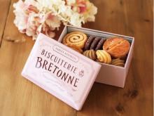 ピンク缶が今年も登場!ビスキュイテリエ ブルトンヌのクッキー