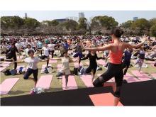 人気ヨガイベント「Sakura Yoga」、今年は東京・大阪で開催!