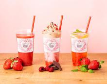 かわいい、ヘルシー、おいしい♡季節限定の苺スムージー&ジュースが「ハニーズキッチン」に登場!