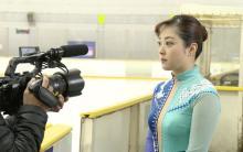 水卜アナ、再現VTRで荒川静香役  1ヶ月スケート特訓「大人になってから一番面白い」