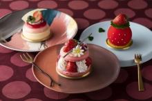真っ赤なイチゴが主役♩シェラトングランデトーキョーベイ、3月限定「スイーツ&ベーカリー」はイチゴづくし♡