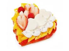 カフェコムサ「紅ほっぺ」使用のホワイトデー限定ケーキ発売