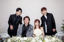 三代目JSB・NAOTO&岩田剛典、ファンの結婚披露宴に登場「すごく幸せな空間でした」