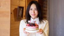 山口紗弥加、現場で39歳バースデー!芸歴24年…奇跡の2連続ドラマ主演