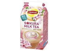 さくらが香るリプトンのミルクティーで一足早い春気分を満喫