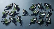 欅坂46、『Mステ』で「黒い羊」TV初披露 フェンスに囲まれたセットでワンカメ演出
