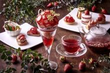 1日20食限定&華やかパフェつき♡ホテルメトロポリタンでいちごづくしのアフタヌーンティーが平日限定で開催♩