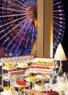 迫力の「アイスタワー」も復活♩横浜ベイホテル東急のナイトブッフェ、5月は選抜スイーツが大集合!