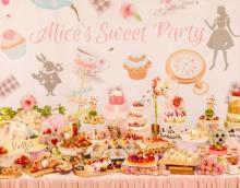 京都の結婚式場でティーパーティー♩贅沢なランチプレート付き「アリスのスイーツブッフェ」が特定日限定で開催♡