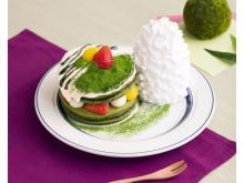 濃厚な宇治抹茶が香る「Eggs 'n Things」の新作パンケーキ