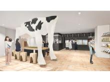北海道産牛乳・乳製品の専門カフェが自由が丘にOPEN!