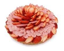 カフェコムサに桜の季節だけのケーキがお目見え♡上野松坂屋限定「桜&パンダ」のケーキプレートもかわいい♩