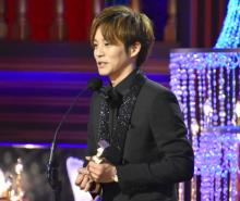 【日本アカデミー賞】松坂桃李、最優秀助演男優賞に目を潤ませスピーチ「最高の時間です」
