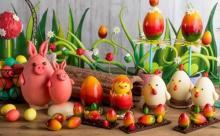 かわいすぎる動物たちにキュン♡ヒルトン東京にエッグ型「イースターチョコレート」が勢ぞろい♩