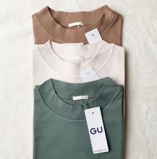 GUの990円Tシャツが優秀すぎる♡イロチ買いするべき4つのおすすめTシャツ