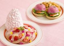 桜色パンケーキ&ビーツのベネディクトがお目見え♩エッグスンシングスの春限定メニューはピンク色づくし♡
