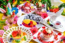 不思議の国でお花見はいかが♩アリスレストランで春限定「フラワーガーデンフェス」がスタート♡