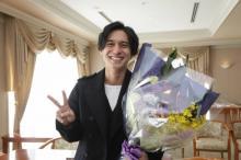 錦戸亮、月9クランクアップに笑顔「打ち上げで楽しいお酒が飲めたら」
