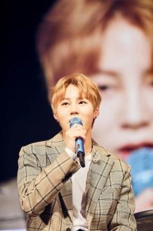 ハ・ソンウン、Wanna One解散後の日本初ファンミが盛況 「緊張したけど貴重な時間に感謝」