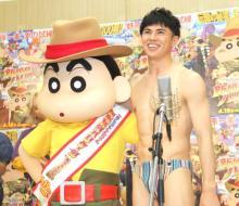 """小島よしお、""""裸""""でアフレコ収録 「そんなの関係ねぇ~!」披露もリテイクで嘆く"""