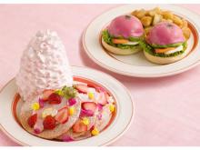 春らしさ全開!ピンクに染まる「Eggs 'n Things」の新メニュー