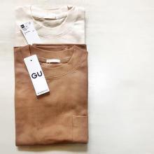 メンズアイテムも見逃せない!990円でお得なGUの「ヘビーウェイトT」はイロチ買いしたい優秀Tシャツでした