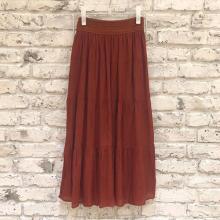 しまむらのティアードスカートで女の子らしさ満点の春コーデ♡ #しまパト で見つけた2つのアイテムをご紹介!
