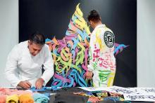 フェンディのファー職人と現代アートがコラボ!「フェンディ クラフ」展が表参道で開催