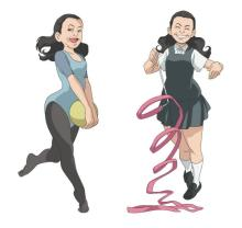 いとうあさこ、『タッチ』浅倉南ネタの縁でアニメ『MIX』出演 初レギュラーでJK、おばちゃん役など毎話登場