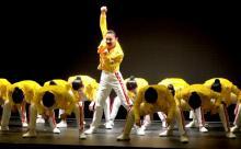 登美丘高校、クイーンの名曲満載の新作ダンス披露 圧巻のパフォーマンスに会場から歓声