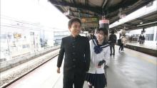 『3年A組』福原遥、浜田雅功とセーラー服でデート イメチェンのB-GIRL姿も披露