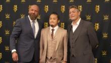 KUSHIDA、WWEと正式契約 英語で意気込み「ベストを尽くします」