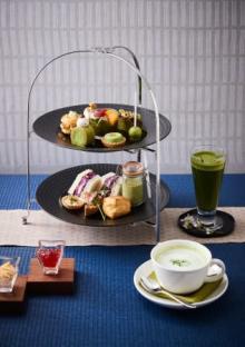 ホテル日航大阪、5月限定アフタヌーンティーは新緑の季節にふさわしいちょっと大人の抹茶づくし♡