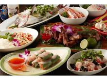 人気のエスニック料理がお腹いっぱい食べられる注目ブッフェ