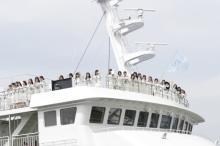 STU48船上劇場がついに出航 度重なる延期経て、涙と笑顔が輝く