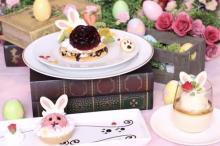 GWに大人かわいいうさぎデザートはいかが♡美女と野獣カフェで「イースターフェア」がスタート♩